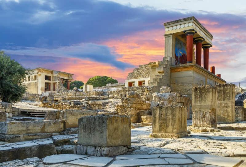 Knossos - que ver en creta
