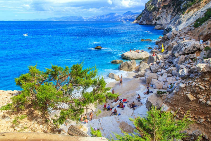 Cala Goloritzé - playas en italia