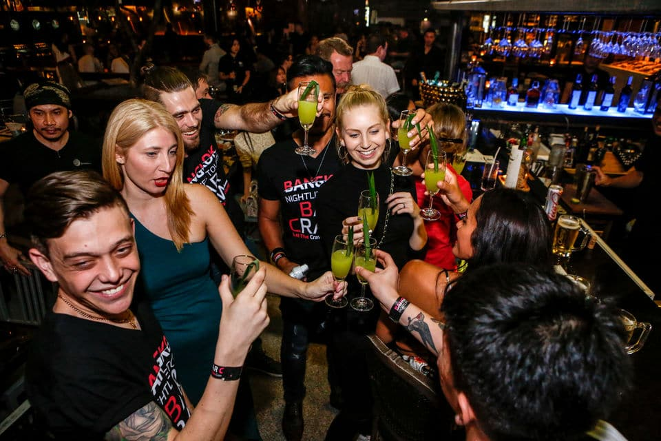 Recorrido por bares de Bangkok