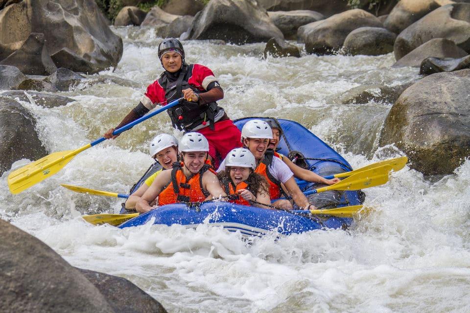 Rafting en aguas bravas Chiang Mai
