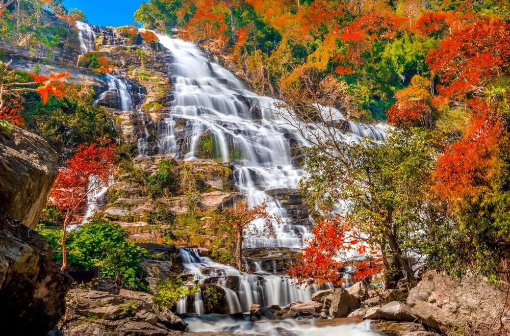 Cascada de Mae Ya