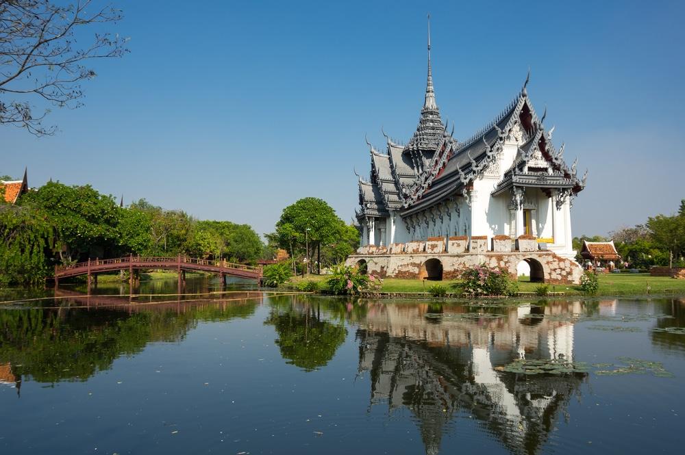 Palacio Sanphet Prasat en Samut Prakan