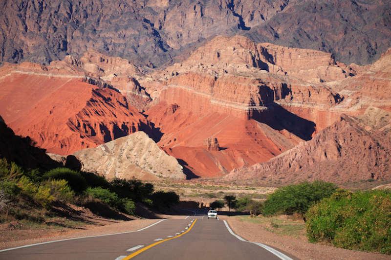 Quebrada de Cafayate - atracciones turisticas argentina