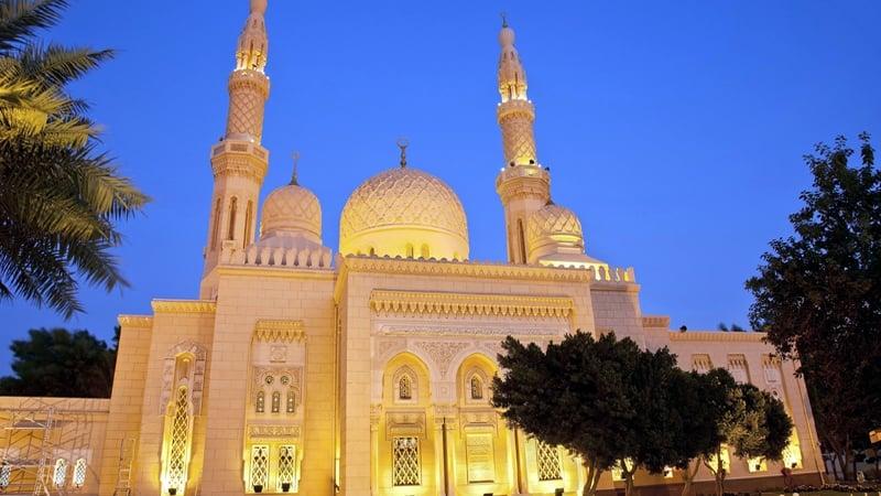 Mezquita-de-Jumeirah - que ver en dubai