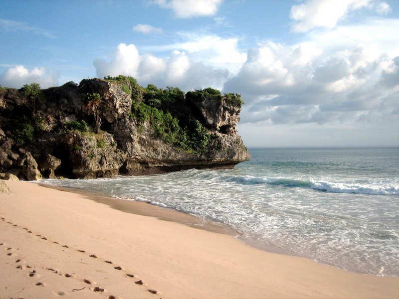 Playa Balangan - que visitar en bali