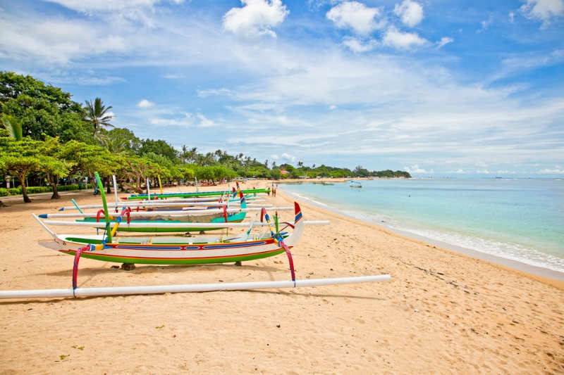 Playa Nusa Dua - playas de bali
