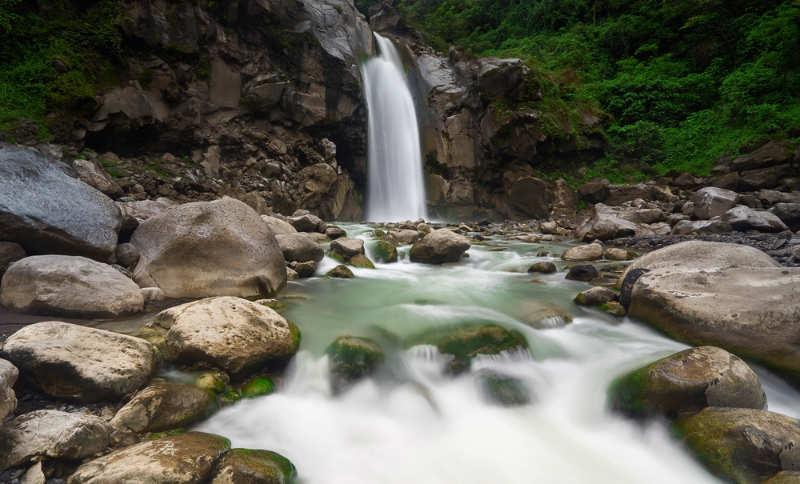 Cascada Mangku Sakti - cosas que ver en lombok