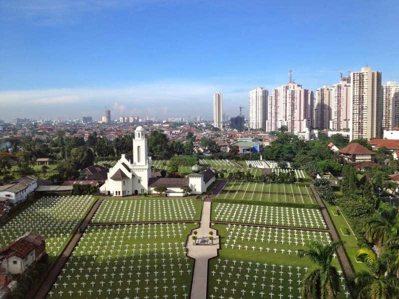 Cementerio de guerra de Yakarta