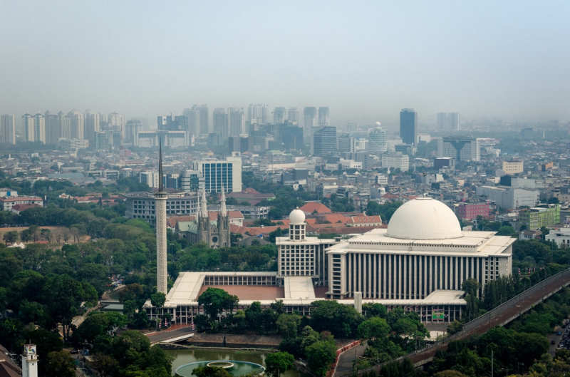 Mezquita Istiqlal - cosas que ver en yakarta