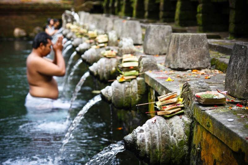 aguas sagradas de Tirta Empul