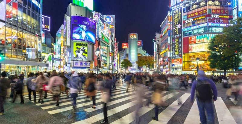 Shibuya - tours tokio