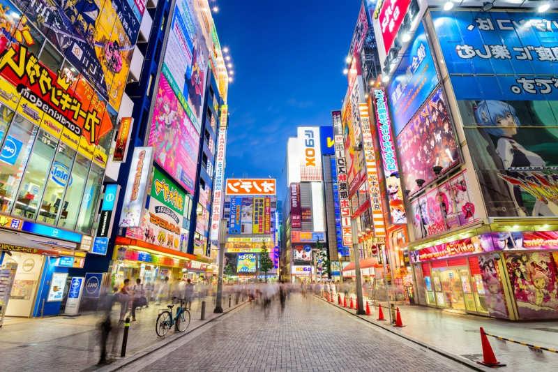 Akihabara - que hacer en tokio