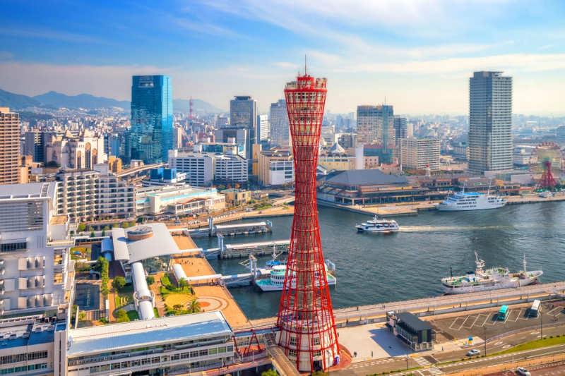 Torre del puerto de Kobe - que ver en kobe