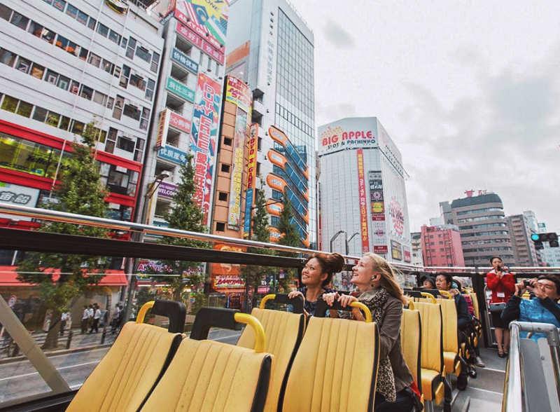 Autobus turistico tokio - tours en japon