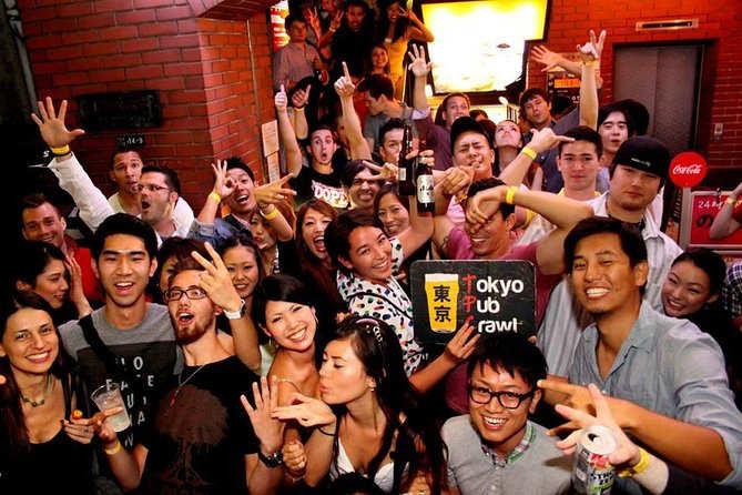 Tokyo-Pub-Crawl tours en tokio