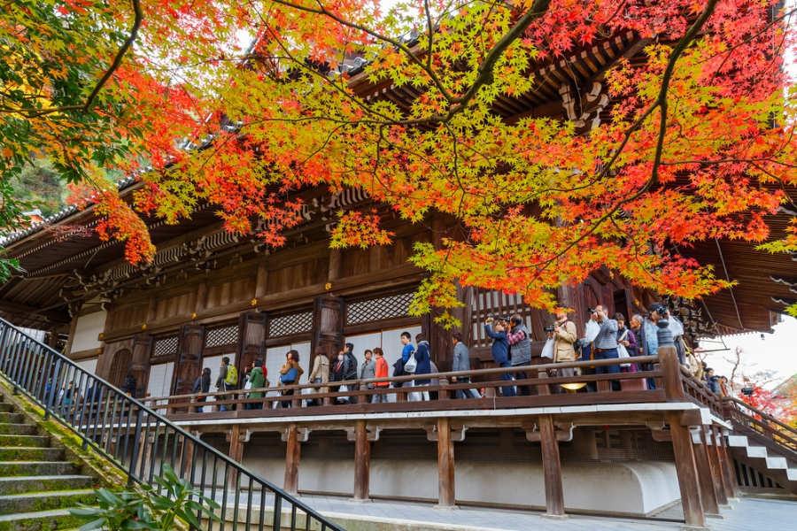Templo Eikando Zenrinji - que ver en Kioto