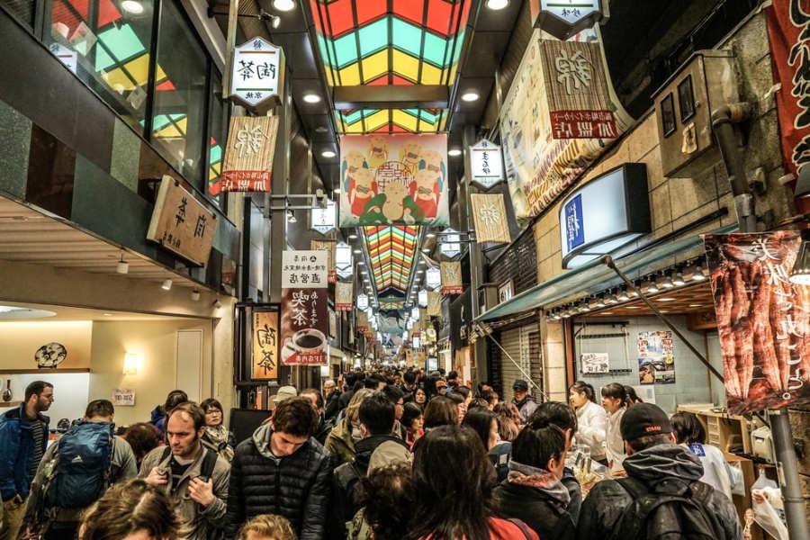 Mercado de nishiki - que ver y hacer en Kioto