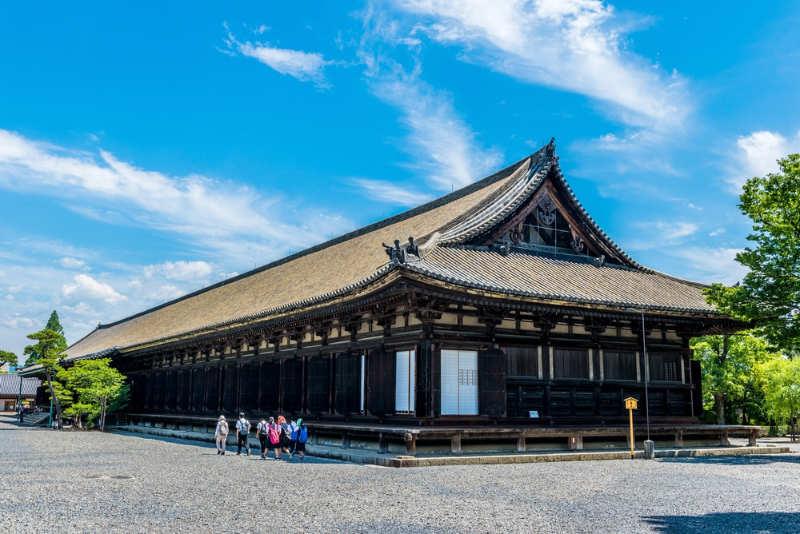 Templo de Sanjusangendo - que ver en Kioto