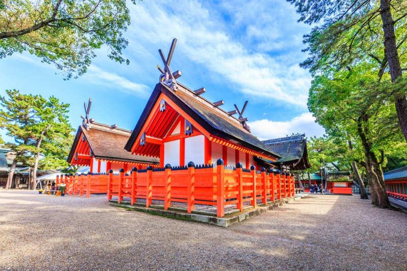 Santuario Sumiyoshi - que ver y hacer en osaka
