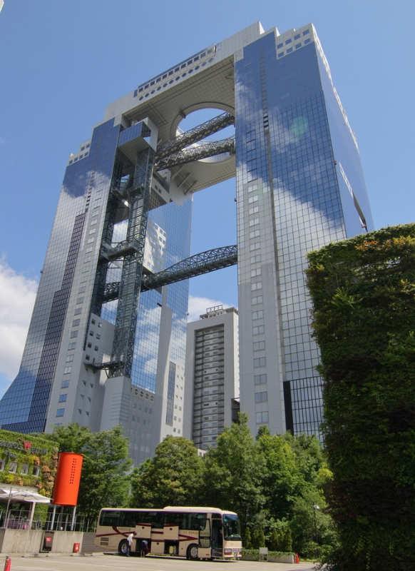 Umeda Sky Building - que hacer en osaka