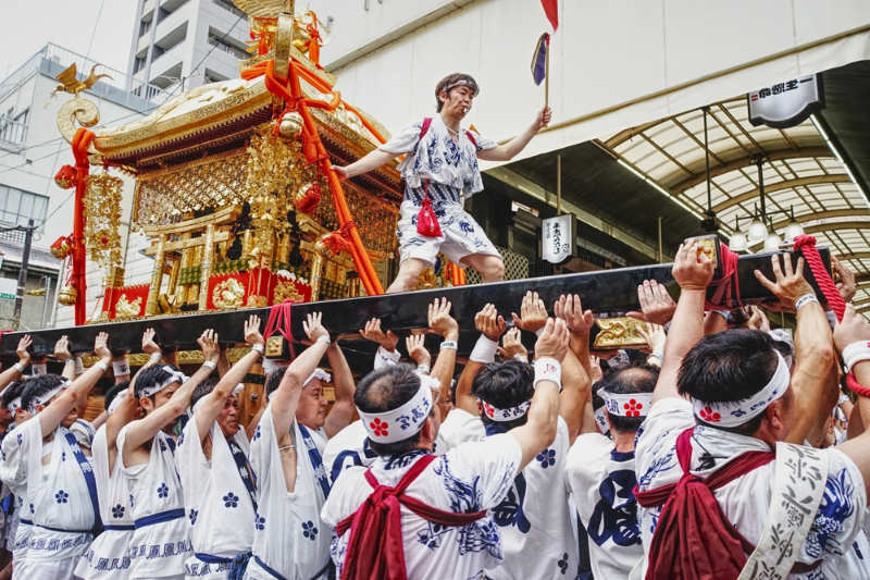 Tenjin Matsuri - que ver en Osaka