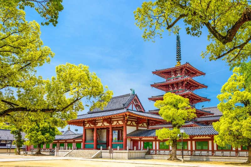 Templo Shitennoji - que ver en osaka