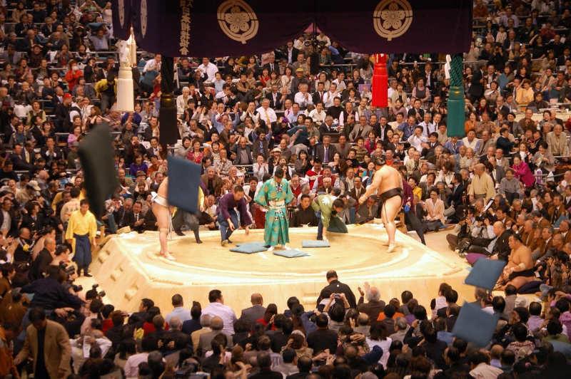 Torneo de Sumo osaka