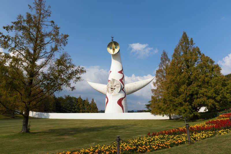 Torre del sol - que ver en osaka