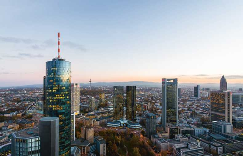 Main Tower en Frankfurt
