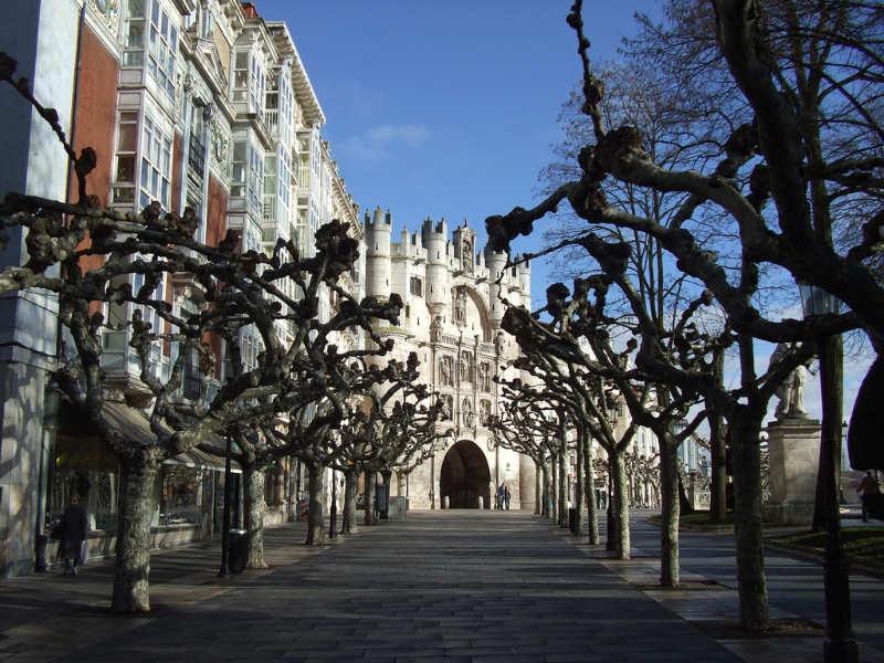 Paseo-del-Espolón-Burgos