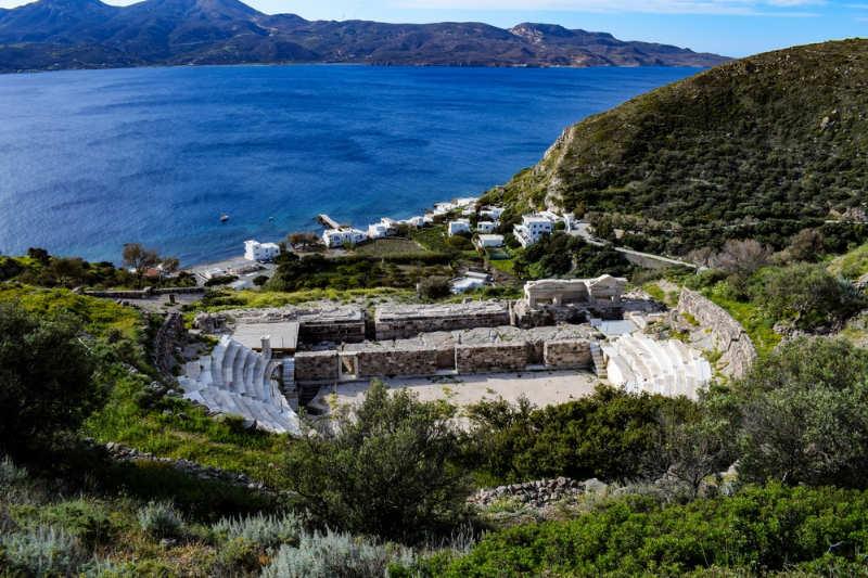 Teatro antiguo de Milos