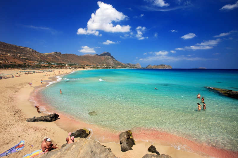 Playa Falassarna - cosas que ver en creta