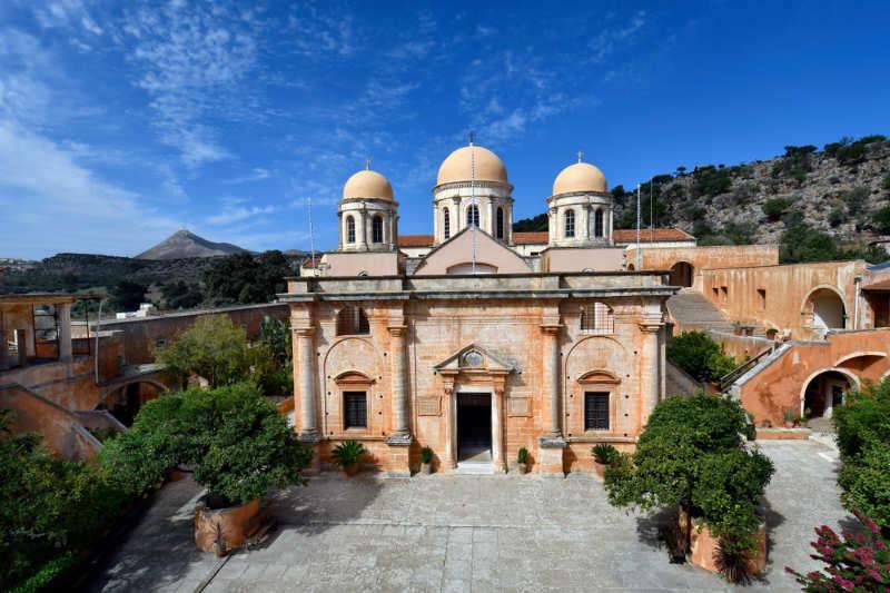 Monasterio de la Santísima Trinidad - que ver en creta
