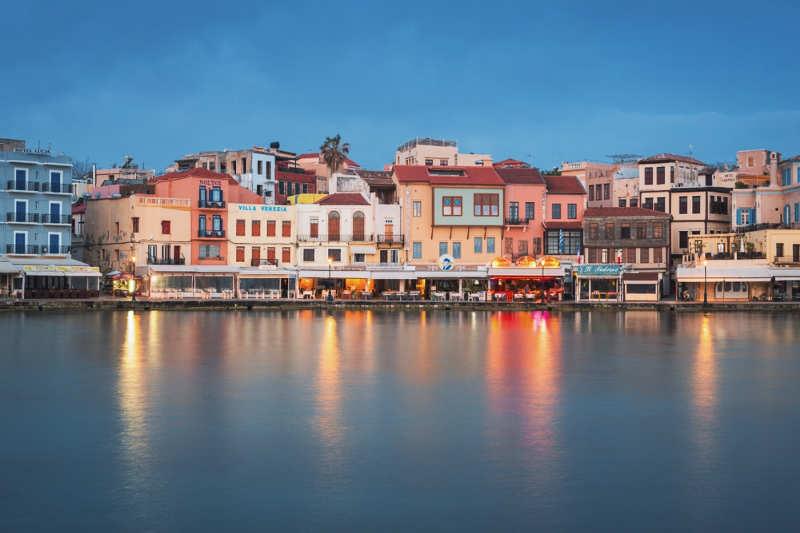 El puerto veneciano de Chania