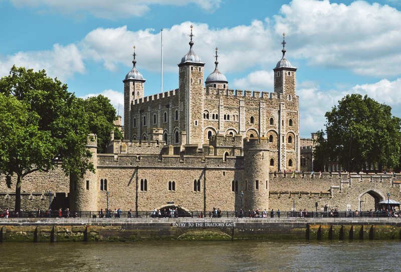 Torre de Londres - Castillos de inglaterra
