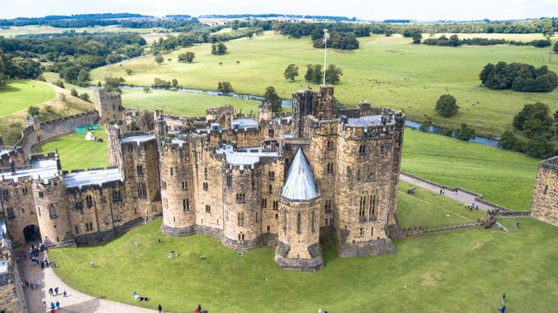 Alnwick Castle - castillos inglaterra
