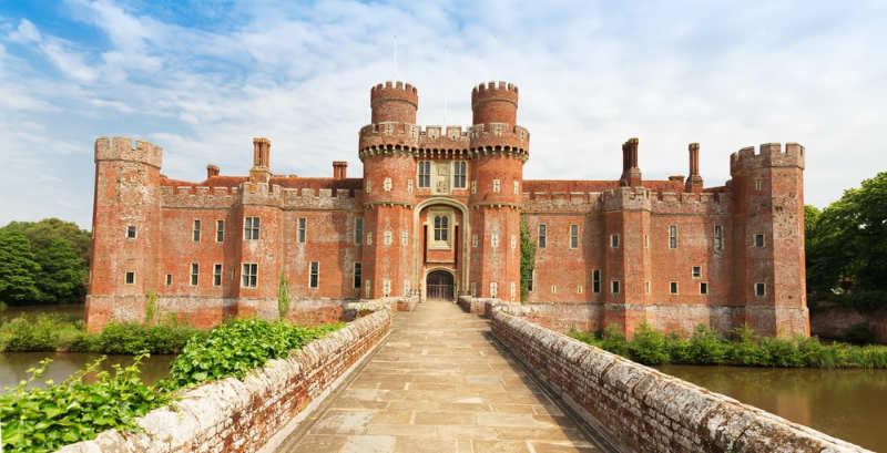 Herstmonceux Castle - castillos en inglaterra