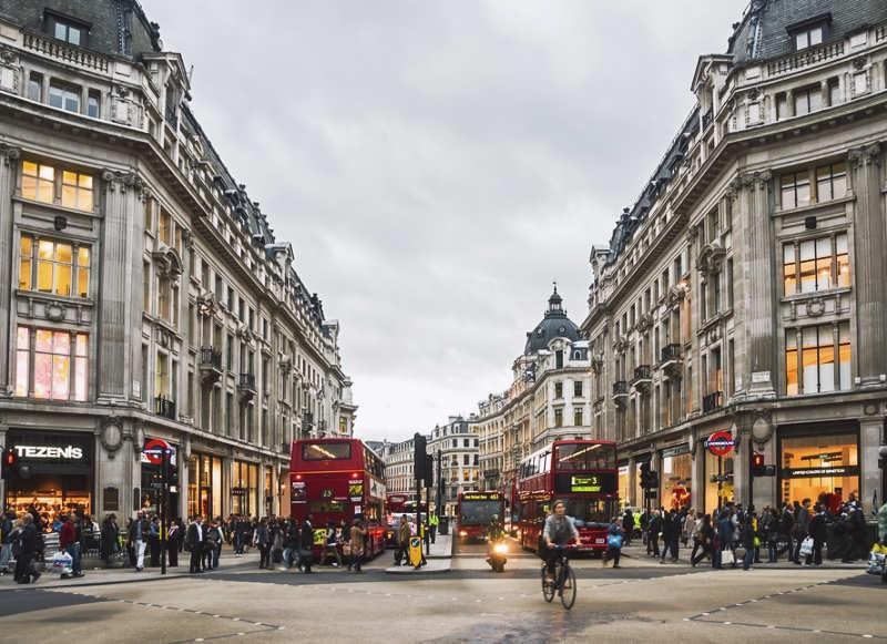 Oxford Street - que ver en londres