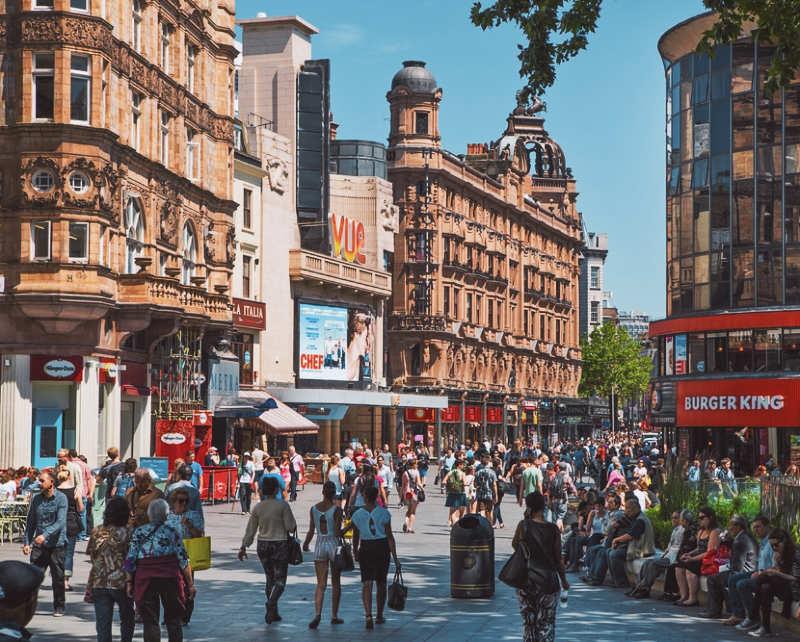 Leicester Square - que ver en londres