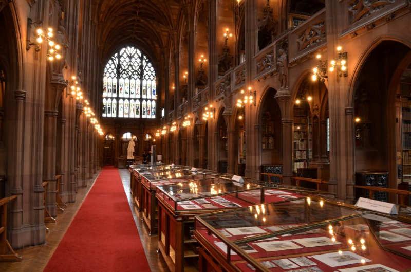 Biblioteca John Rylands Manchester