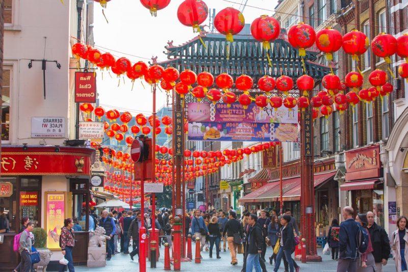 Londres- el barrio chino