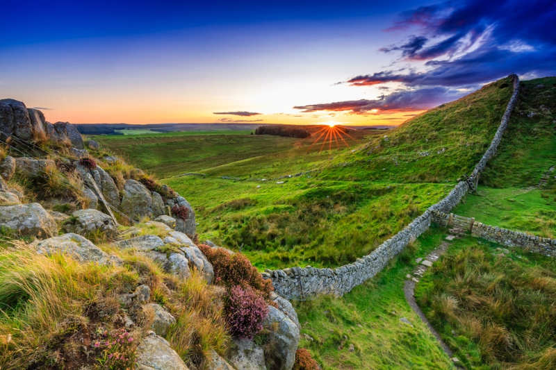 Northern England- Hadrian's Wall