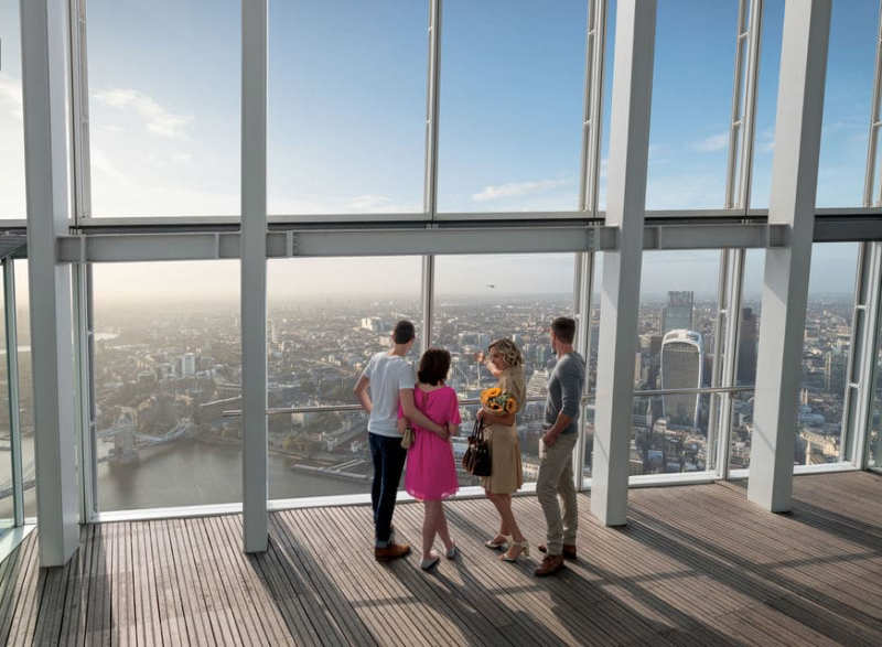 The-View-from-the-Shard-Londres