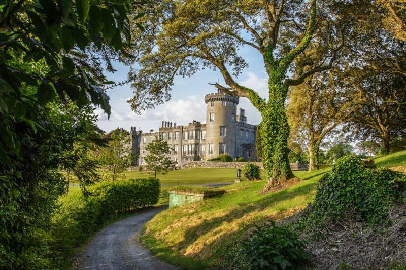 castillo de Dromoland - castillos en irlanda