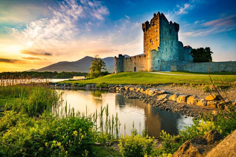 Castillo de ross - castillos en irlanda