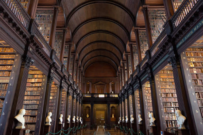 Trinity College Library - que hacer en dublin