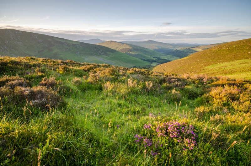 Montañas de Wicklow - cosas que ver en dublin