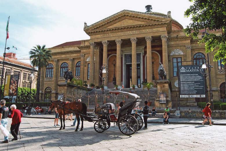 Teatro Massimo - cosas que ver en palermo