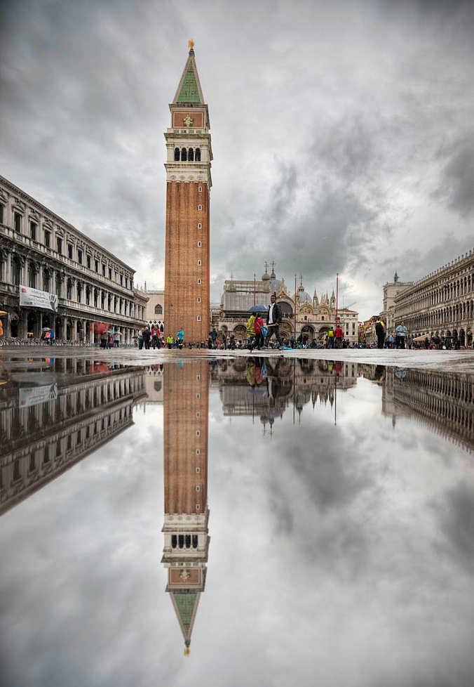 Campanario de San Marco - cosas que ver en venecia