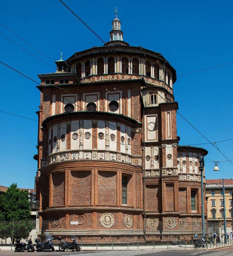 Iglesia-de-Santa-Maria-delle-Grazie-que-ver-en-milan